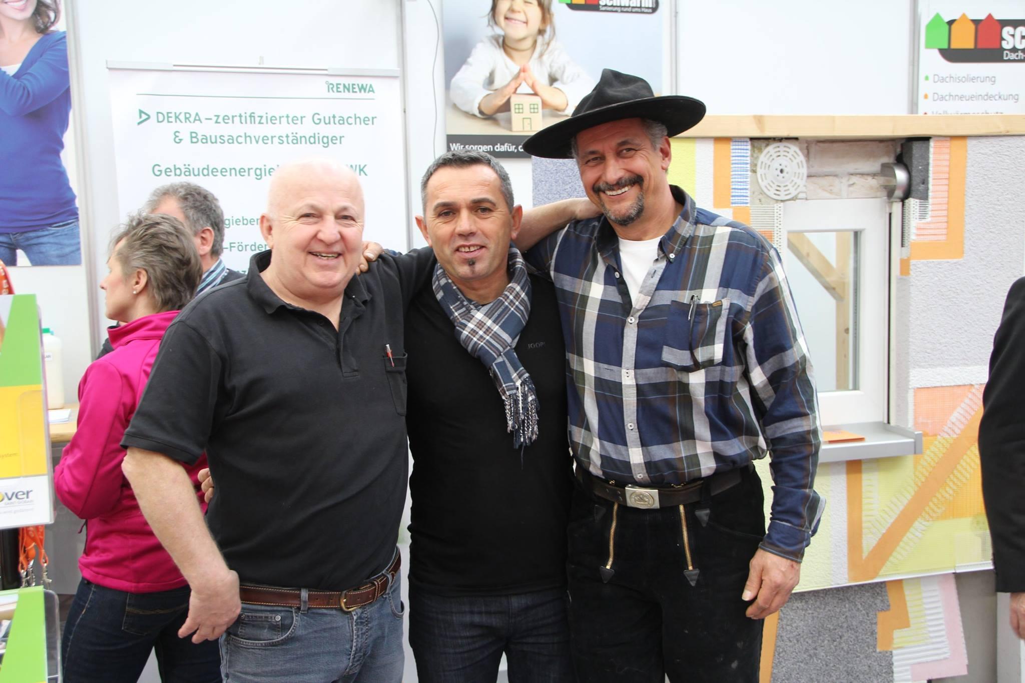 Messe Waiblingen 2017 Handwerkerverbund-Team
